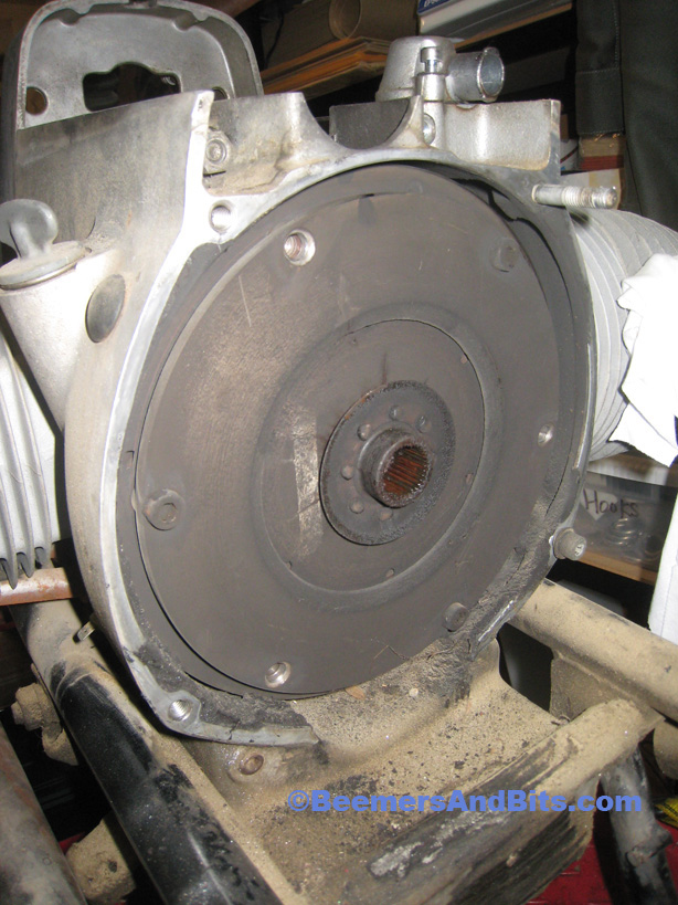 BMW Airhead Clutch and Flywheel Removal on the Cheap