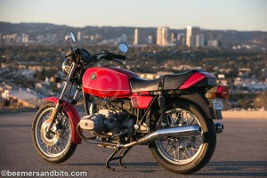 1980 BMW R65 red