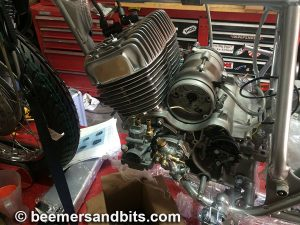 I sourced this engine build to a guy who builds Yamaha RD's and such.  Fingers crossed it works.