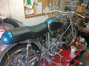 1967 Bridgestone 175 HS custom restoration
