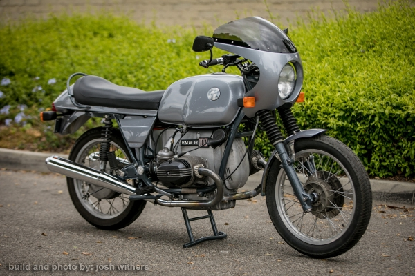 1978 BMW R100S with R90/6 front end. by Josh Withers