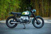 1973 Green BMW R75/5 Scrambler