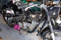 R50/2 with R90 engine disassembly