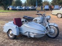 Finished Sidecar VintageBMWMeet