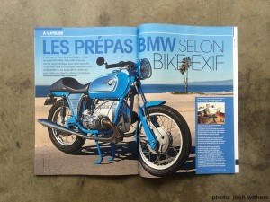 BMW Blue Cafe Racer by Josh WIthers